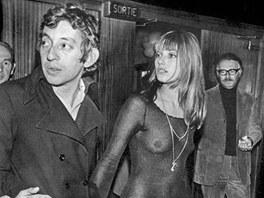 Serge Gainsbourg a Jane Birkin